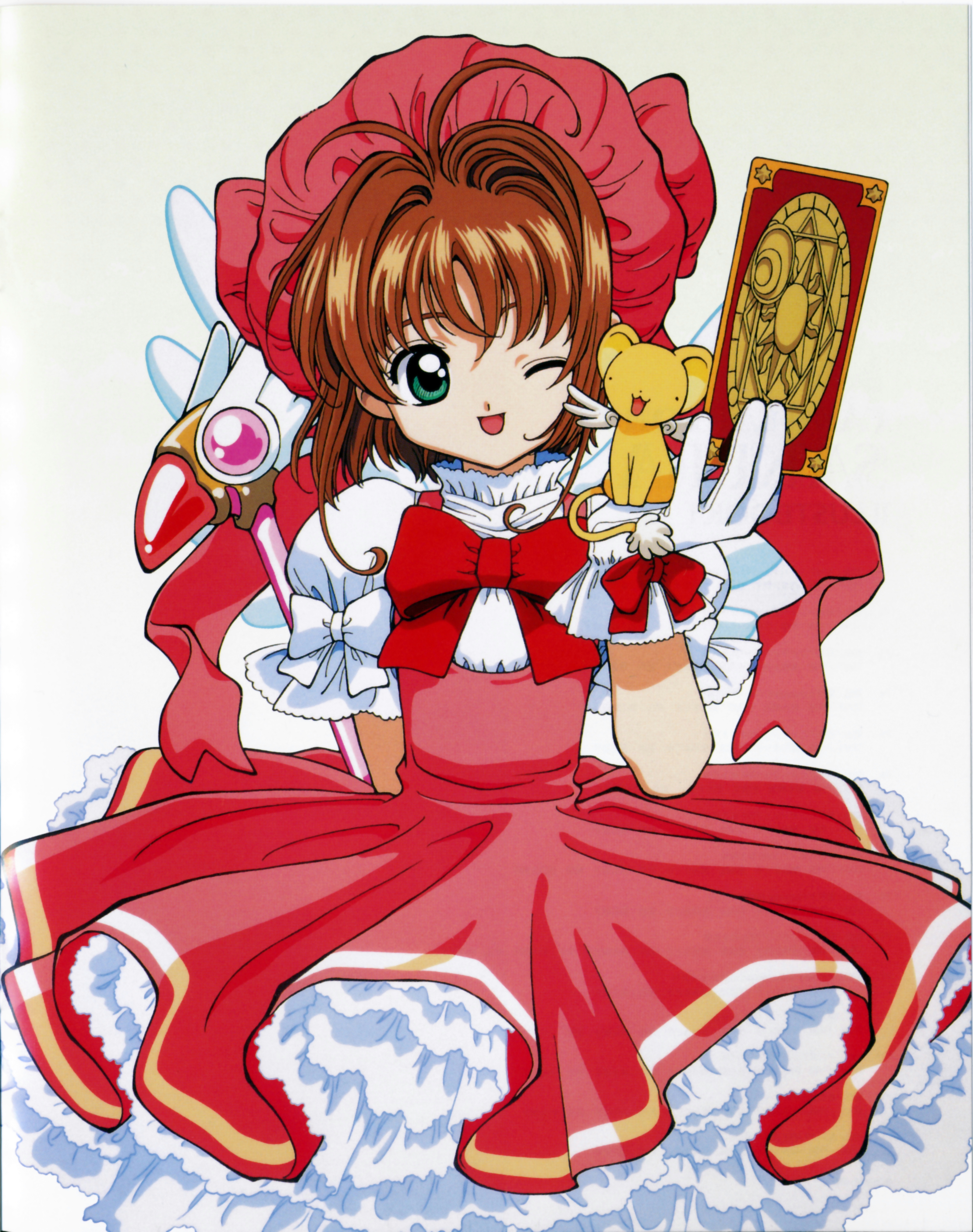 Anime Characters Named Sakura : Cardcaptor sakura anime photo  fanpop
