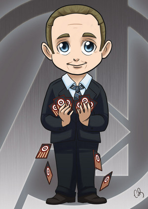 Cartoon Coulson