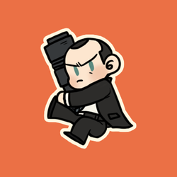 Cartoon Coulson