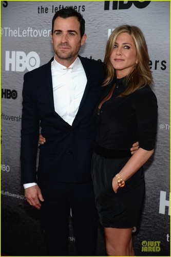 The Leftovers [HBO] দেওয়ালপত্র with a business suit, a suit, and a dress suit entitled Cast @ 'Leftovers' Premiere in NYC