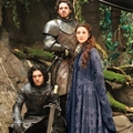 Catelyn Stark, Robb and Jon