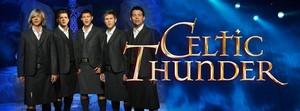 Celtic Thunder group 写真 with Emmett