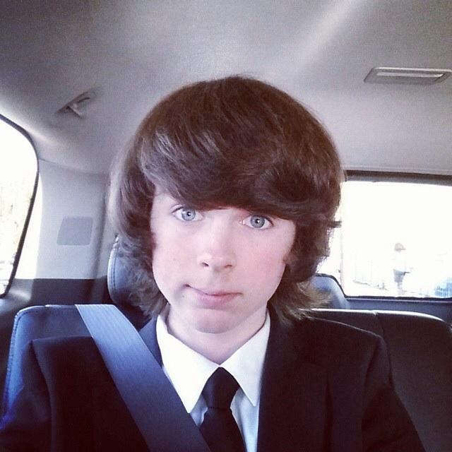 Chandler's pre Saturn awards selfie ❤