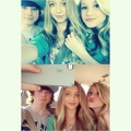 Chandler with Hana and Brooke TODAY!!
