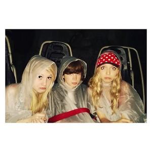Chandler with Hana and Brooke at Disneyland