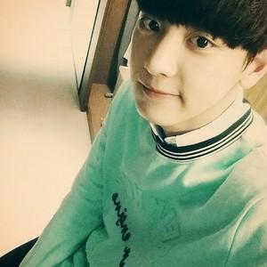 Chanyeol 140701 Instagram Update:Bonus!!! freiknock