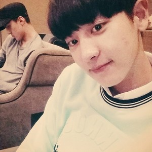 Chanyeol 140701 Instagram Update:See tu again hongkong~~~~ mint freiknock