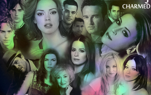 Charmed wallpaper probably containing a portrait titled Charmed all cast