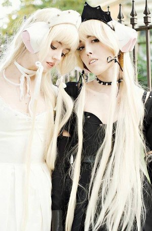 Chii #chobits #cosplay outtakes