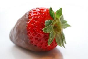 チョコレート Covered Strawberries!
