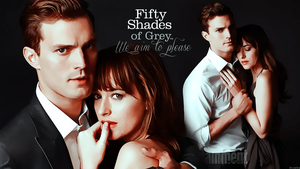 Christian Grey and Anastasia Steele fan art