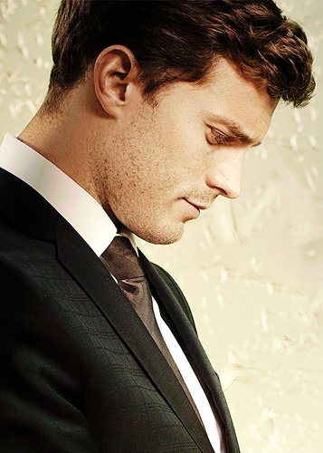 Fifty Shades of Grey wallpaper containing a business suit and a suit called Christian Grey