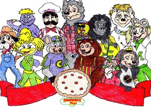 Chuck E. Cheese's and Showbiz pizza