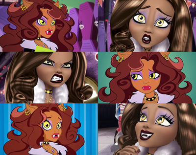 monster high wallpaper probably with animê called Clawdeen lobo