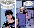 Clint Barton and Kate Bishop