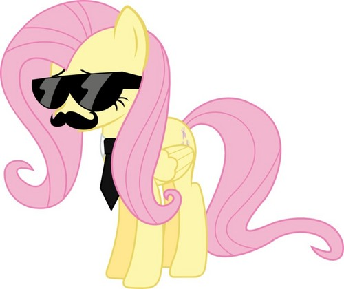 My Little ngựa con, ngựa, pony - Friendship is Magic hình nền with anime titled Cool Fluttershy
