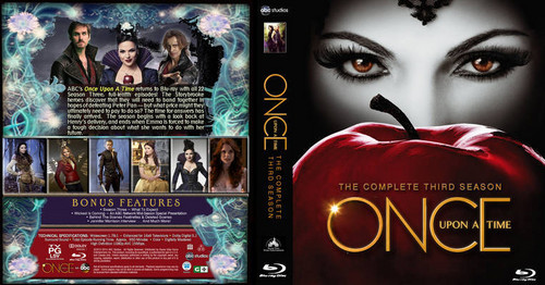 Once Upon A Time karatasi la kupamba ukuta with anime called Cover art for Season 3 DVD and Blu-ray