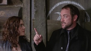 Crowley and Meg