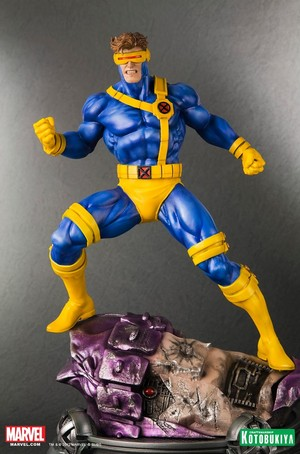 Cyclops / Scott Summers Danger Room Session Figurine