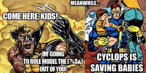 Cyclops vs. Wolverine