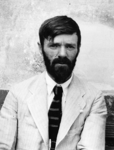 Poets & Writers wallpaper containing a business suit called D. H. Lawrence