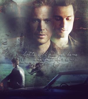 Damon, Alaric and Enzo
