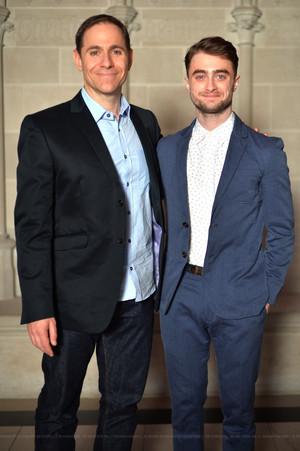 Daniel Radcliffe At LOGO TV'S TRAILBLAZERS EVENT (Fb.com/DanieljacobRadcliffeFanClub)