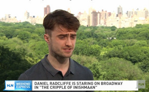 Daniel Radcliffe Talks With HLN TV For Vid Follow=> (Fb.com/DanieljacobRadcliffeFanClub)