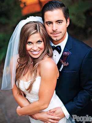 Danielle Fishel with ex-husband Tim Belusko