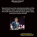 Dave Grohl = Legend - foo-fighters photo