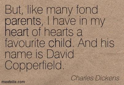 Charles Dickens kertas dinding titled David Copperfield