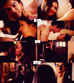 Delena - This is real