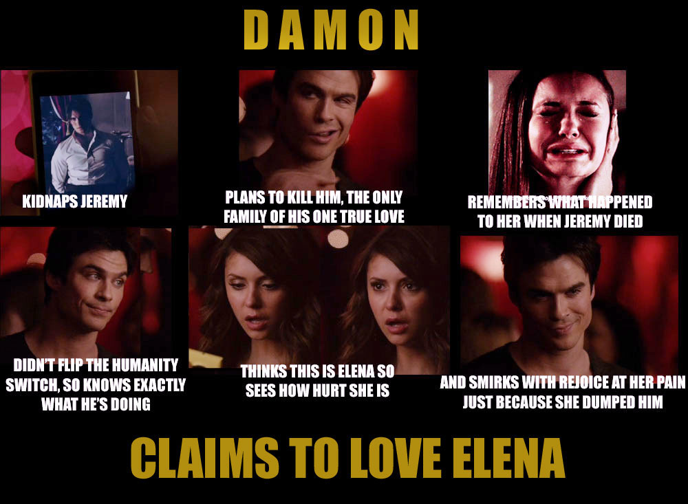Delena The Ugly Truth The Vampire Diaries Photo 37231252