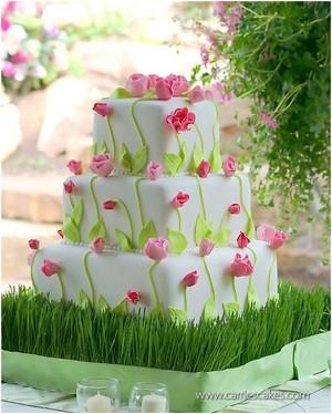 Delicious Spring Cake