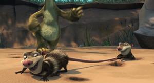 Diego and Sid vs. Crash and Eddie