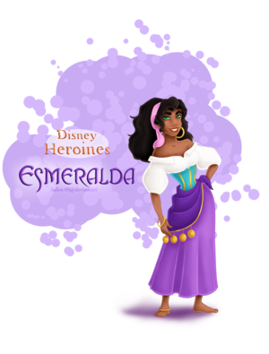 ディズニー Heroines - Esmeralda