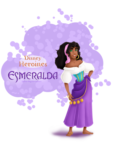 Childhood Animated Movie Heroines پیپر وال titled Disney Heroines - Esmeralda