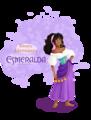 Дисней Heroines - Esmeralda