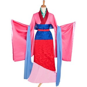 Disney Hua Mulan cosplay costume