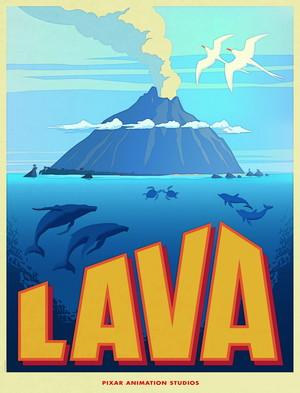 ডিজনি পিক্সার Short 'Lava' Poster