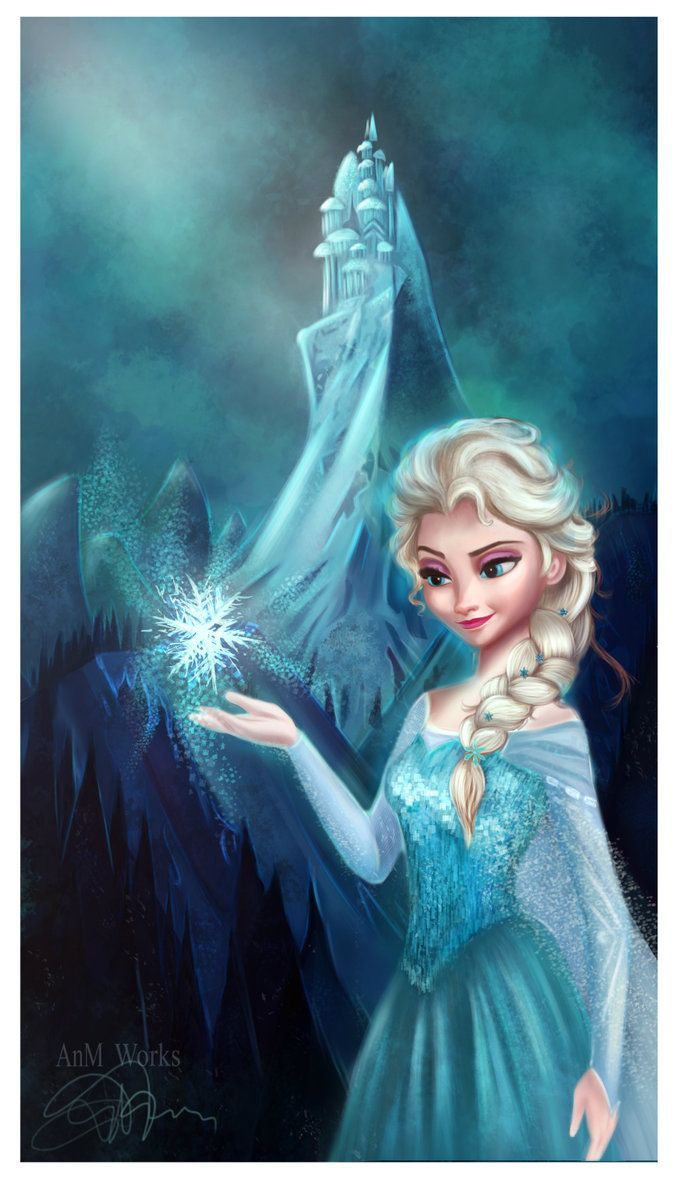 Disney Princess, Elsa - Disney Fan Art (37291225) - Fanpop