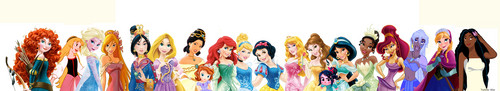 disney Leading Ladies foto probably with a tenis racket entitled disney Princess, Lineup