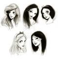 Disney Princesses - disney fan art