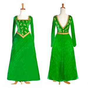 Disney Shrek Princess Fiona cosplay costume