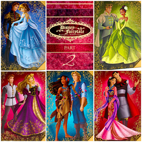 Disney-Prinzessin Hintergrund titled Disney Store: Disney Fairytale Designer Collection - Part. 2:)