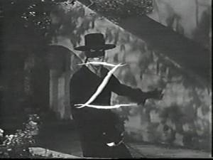"Disney televisie Series, ""Zorro"""