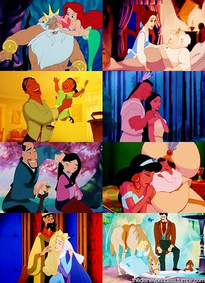 disney daddys. Happy Father's Day!