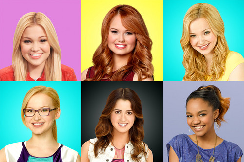 Disney Channel Wallpaper With A Portrait Called Girls