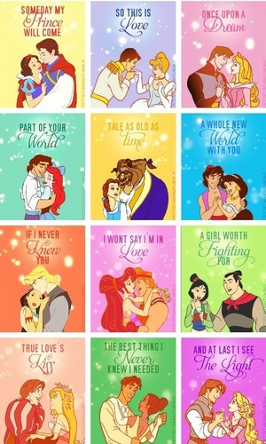 迪士尼 爱情 stories