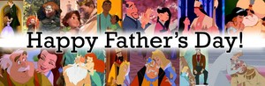 Disney princesses and their fathers!